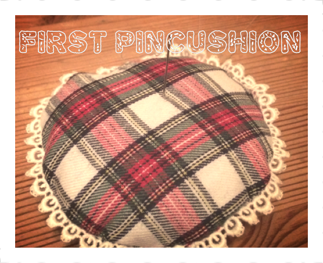 First Pin Cushion